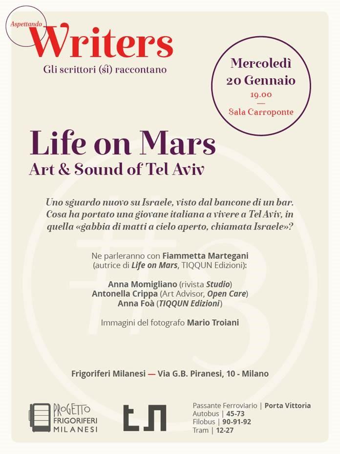Fiammetta Martegani, Life on Mars