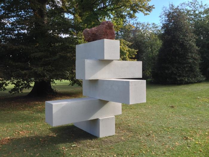 José Davila, Joint Effort, 2016 @ London, Frieze Sculpture Park