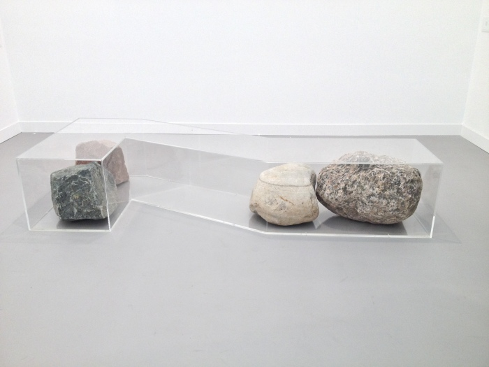 Nicole Wermers, Rock Bench, 2016 @ Herald St, Frieze London