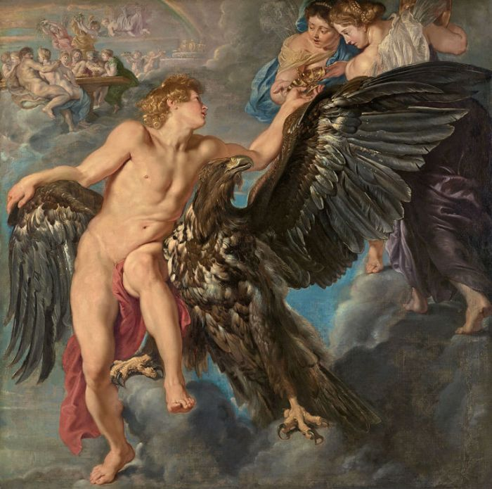 Pieter Paul Rubens, Ganimede e Ebe, 1611, Vienna, Schwartzenberg Collection