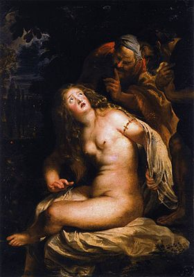 Pieter Paul Rubens, Susanna e i Vecchioni, 1611, Roma, Galleria Borghese