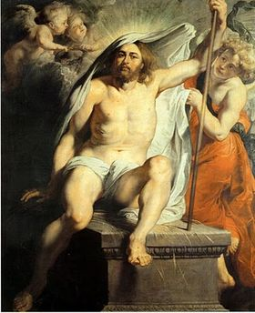Pieter Paul Rubens, Cristo risorto 1615, Firenze Palazzo Pitti