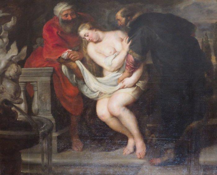 Pieter Paul Rubens, Susanna e i Vecchioni, 1611, San Pietroburgo, Hermitage
